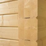 Casas de madera de vigas pegadas, vigas encoladas
